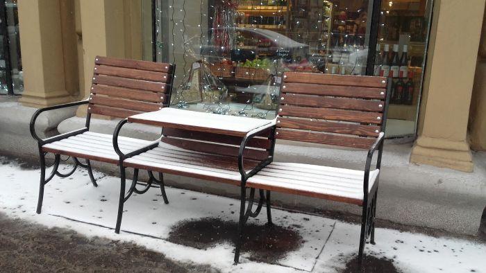 Уличные мебель