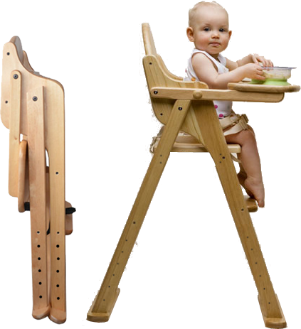 продам детский стульчик для кормления деревянный складной