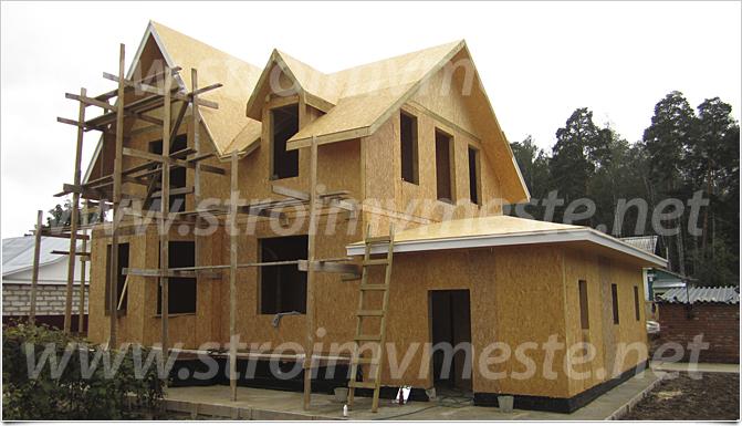 СИП панелей | Строительство домов в