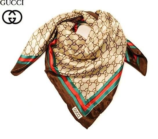 1c4c22b63297 Модный стильный женский платок Гуччи купить, цена: 950.00 руб ...