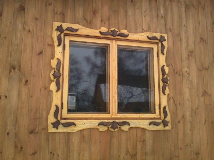 Как сделать наличники на окна деревянные своими руками