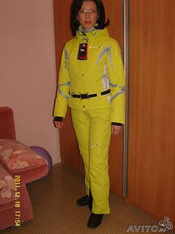 Горнолыжный костюм женский бу