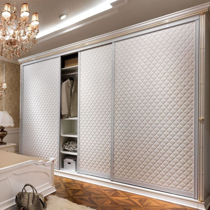 Шкафы купе белый дизайн