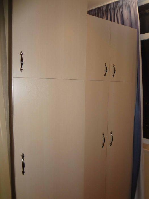 Прекрасные и очень качественные шкафы для лоджии под заказ в.
